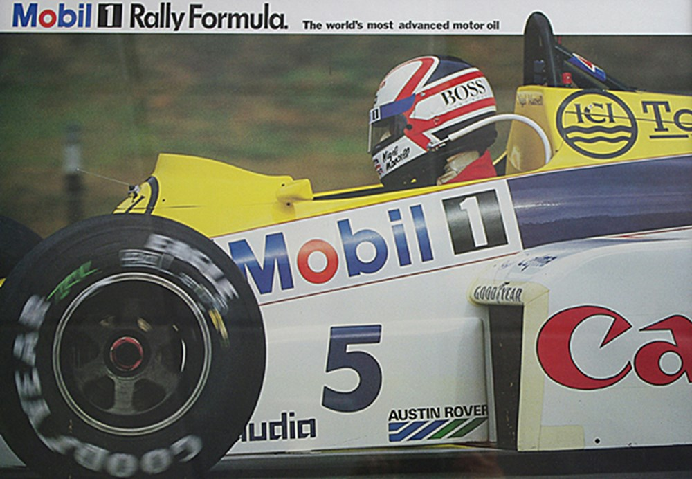 Lot 111 - Mansell in a Williams