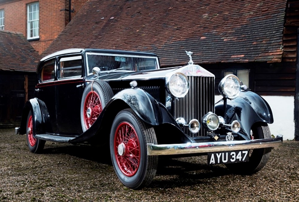 Lot 238 - 1934 Rolls-Royce 20/25 Special Touring Saloon by Park Ward