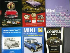 Navigate to 14 motoring books.