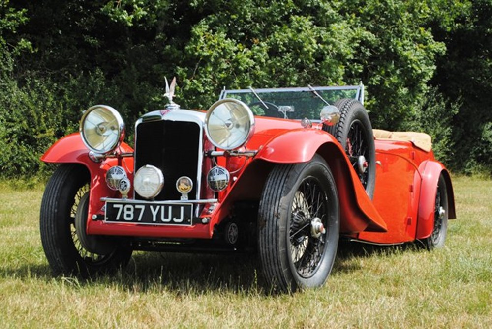 Lot 239 - 1936 12840 Silver Eagle Four-seat Open Tourer