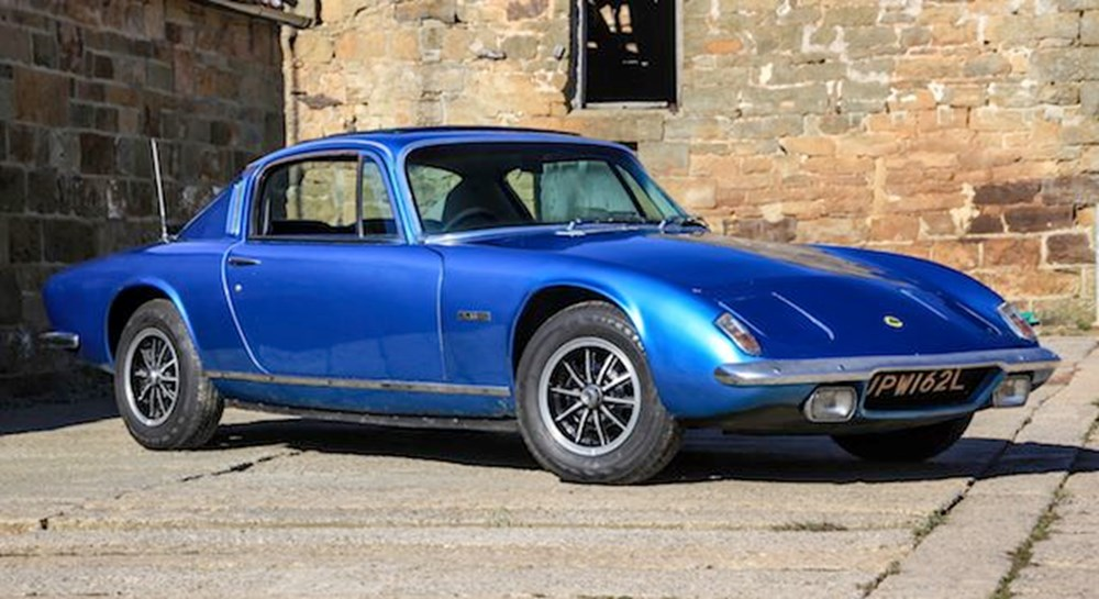 Lot 320 - 1972 Lotus Elan Plus 2S 130/5 (Chassis #1) Ex-Ronnie Peterson