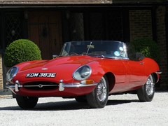 Navigate to Lot 197 - 1967 Jaguar E-Type Series I Roadster
