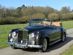 Navigate to Lot 240 - 1962 Rolls-Royce II Drophead Coupé Adaptation by H.J Mulliner