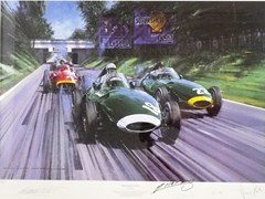Navigate to British Racing Green Limited Edition Print