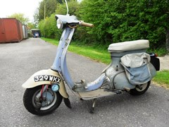 Navigate to Lot 266 - 1962 Triumph Tina Scooter