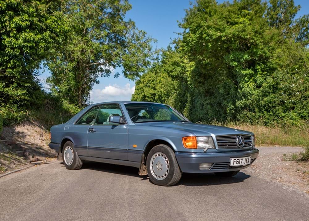 Lot 103 - 1989 Mercedes-Benz 500 SEC