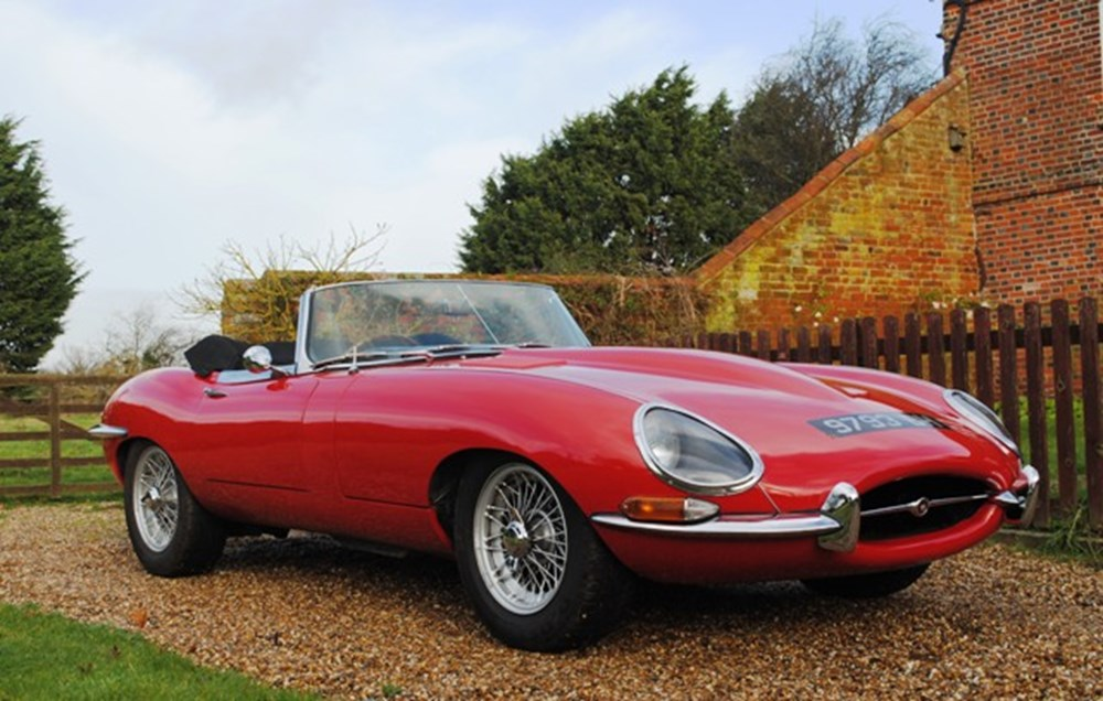 Lot 243 - 1965 12947 E-Type SI Roadster