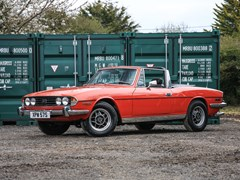 Navigate to Lot 261 - 1977 Triumph Stag
