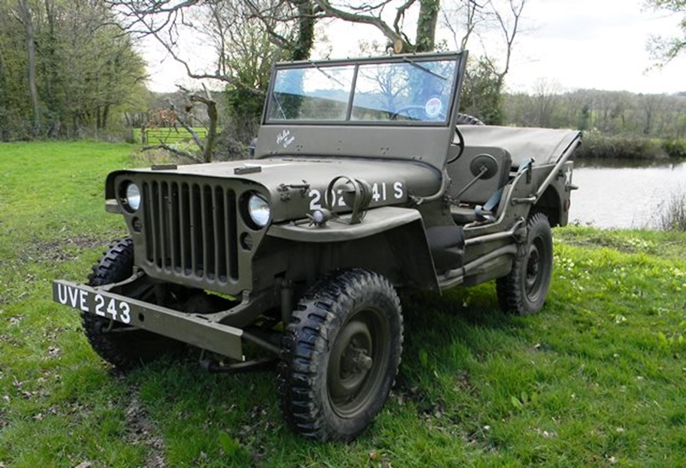 Lot 330 - 1942 Willys MB Jeep