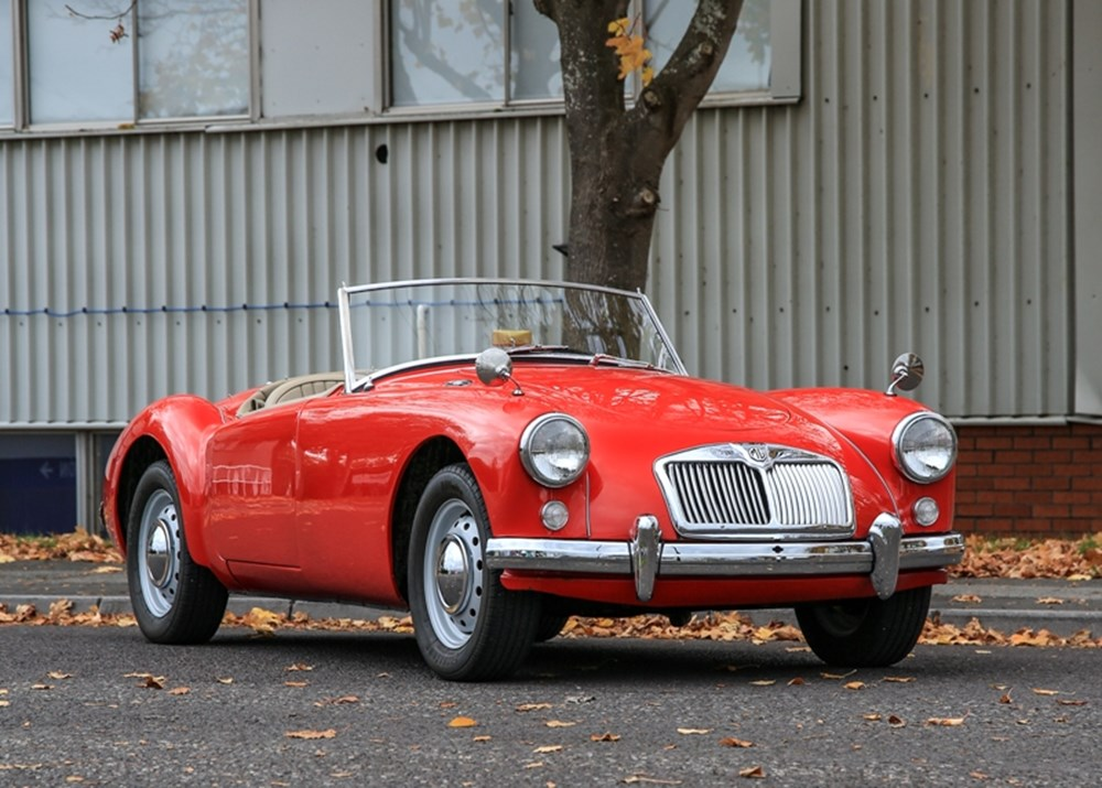Lot 254 - 1956 MG A Roadster Mk. I