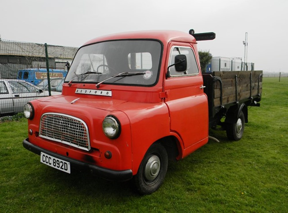 Lot 306 - 1966 Bedford CA Flatbed Lorry