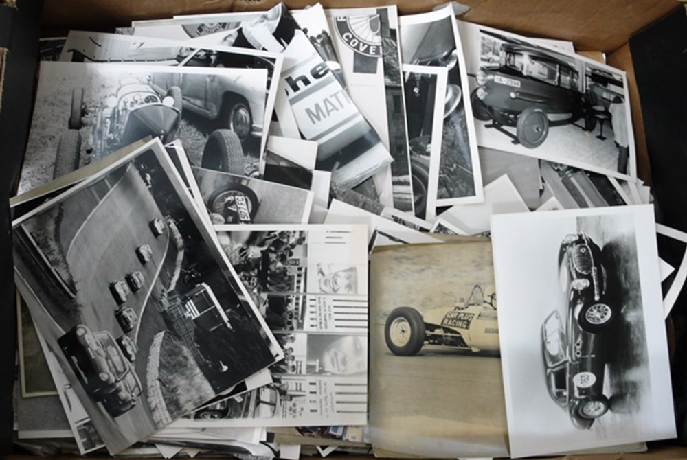 Lot 035 - A quantity of motoring photos