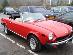 Navigate to Lot 260 - 1977 Fiat 124 Spider