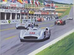 Navigate to Fangio original painting.
