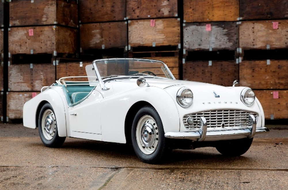 Lot 164 - 1962 Triumph TR3B Roadster