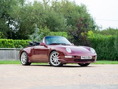 Navigate to Lot 220 - 1996 Porsche 911/993 Carrera 4 Cabriolet