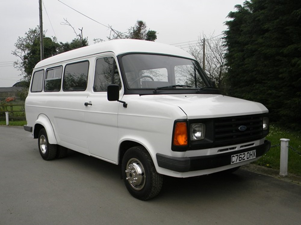 1986 ford transit 190 15 seat minibus. Black Bedroom Furniture Sets. Home Design Ideas