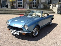 Navigate to Lot 226 - 1979 Fiat 124 Spider