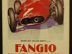 Navigate to Fangio film poster.