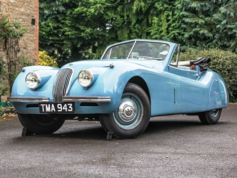 REF 27 1954 Jaguar XK120 Drophead Coupé