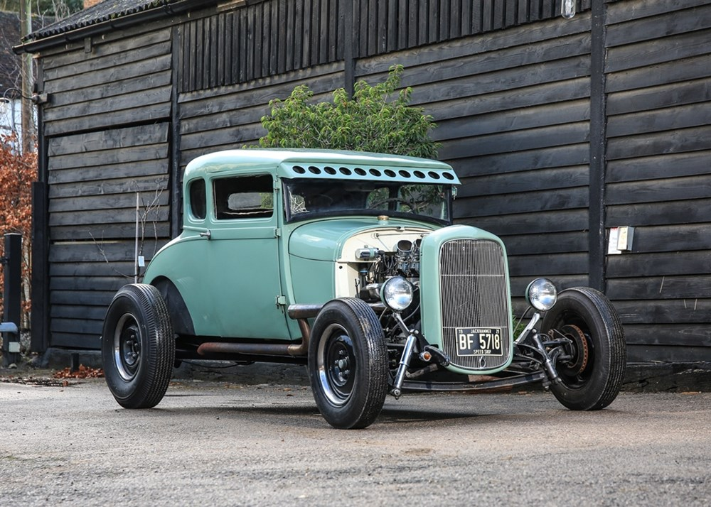 Lot 318 - 1929 Ford Model A Coupé Hot Rod