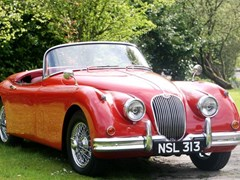 Navigate to Lot 227 - 1958 Jaguar XK150 Roadster