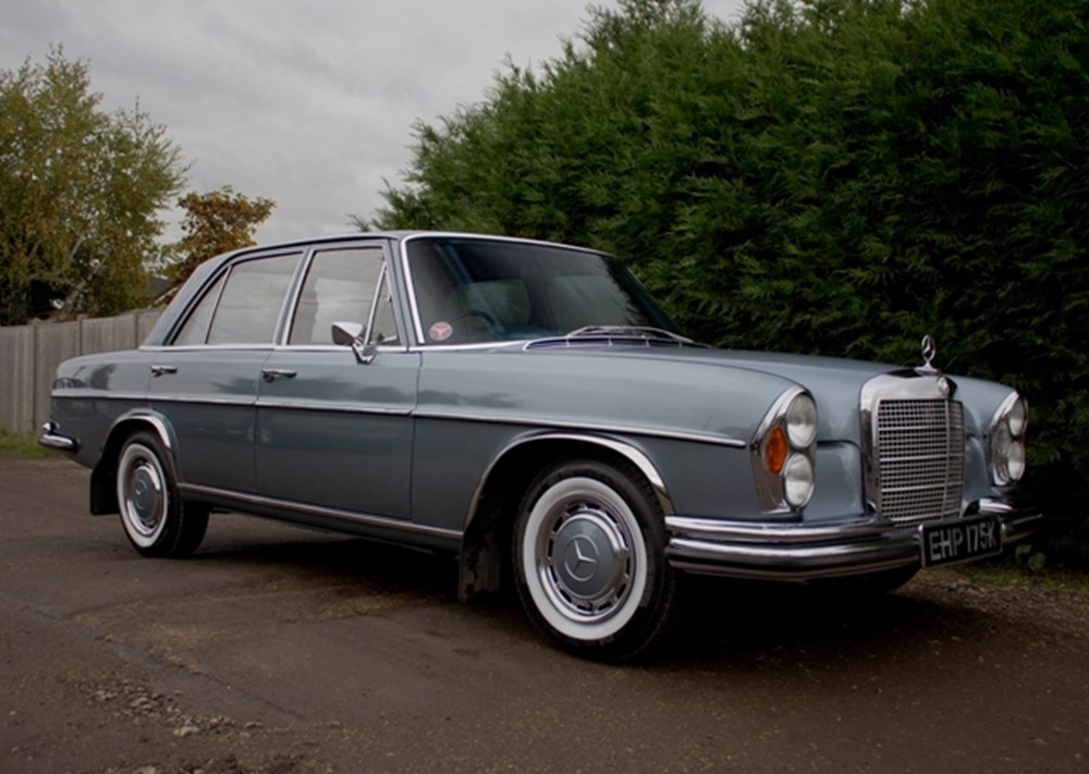 Lot 217 - 1972 Mercedes-Benz 280 SE Saloon (3.5 litre)