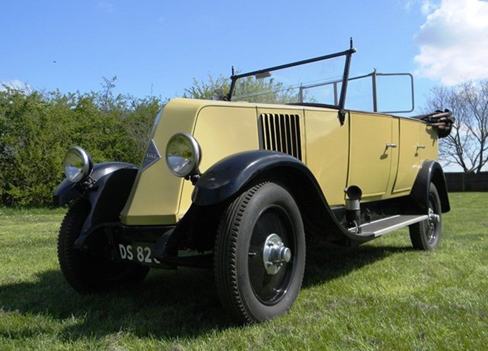Lot 342 - 1928 Renault Type NN Tourer/Utility Car