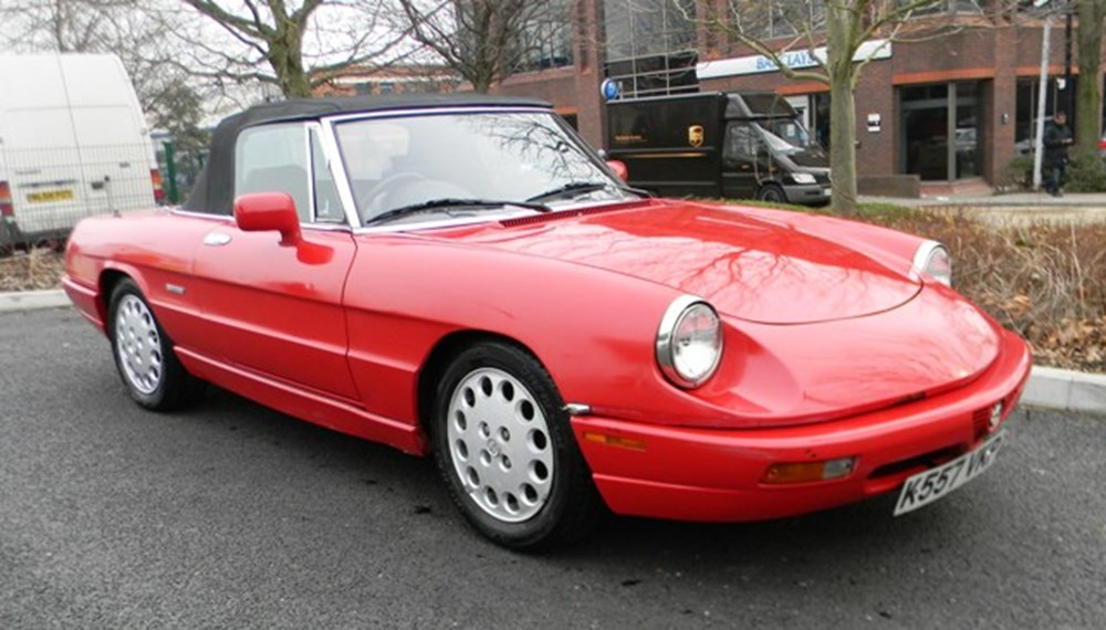 Lot 315 - 1993 Alfa Romeo Spider Series IV