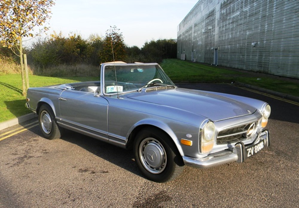Lot 260 - 1971 Mercedes-Benz 280SL Roadster