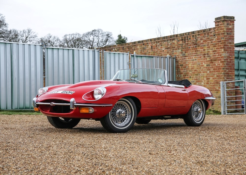 Lot 222 - 1970 Jaguar E-Type Series II Roadster (4.2 litre)