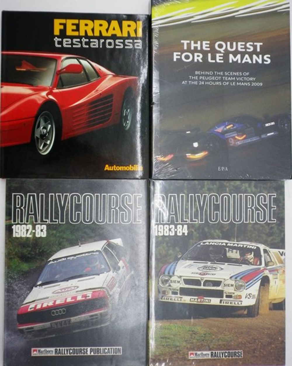 Lot 6 - Ten motoring books