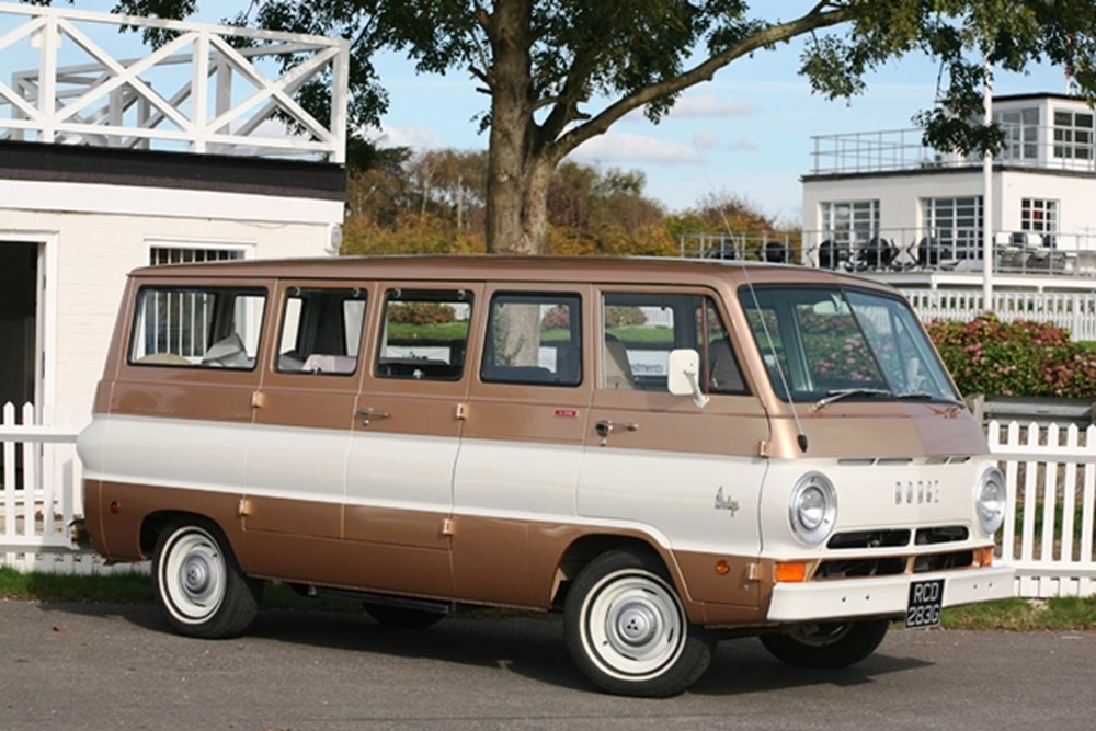 Lot 303 - 1969 Dodge A108 Window Van