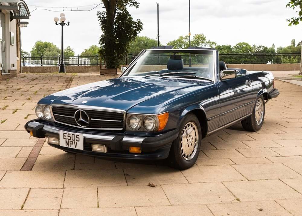 1987 Mercedes-Benz 560 SL Roadster