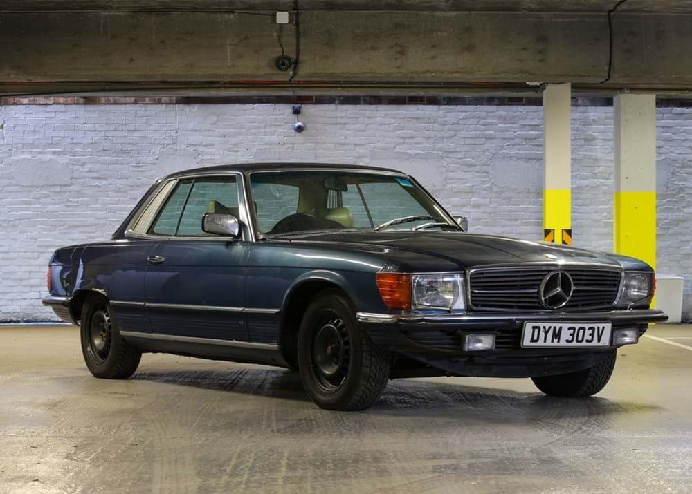 Ref 163 1979 mercedes benz 450 slc for Mercedes benz 450 slc