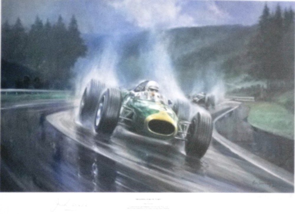 Lot 46 - Sir Jack Brabham L/E print