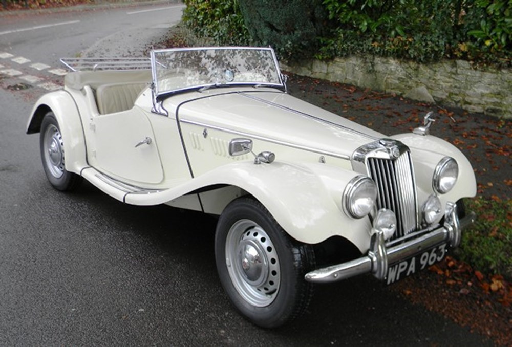 Lot 214 - 1954 MG TF