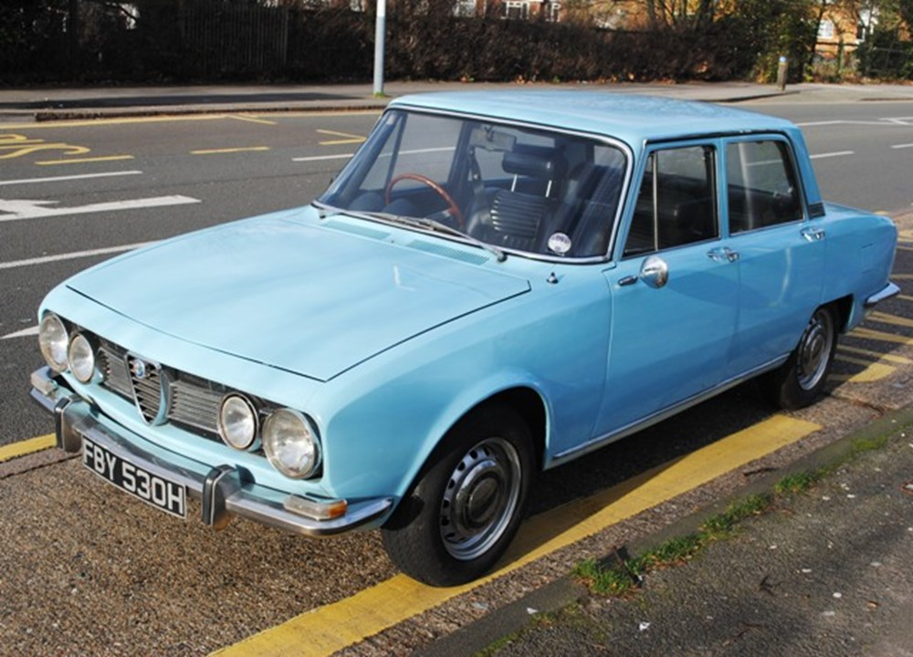Lot 297 - 1970 12838 Berlina Series I