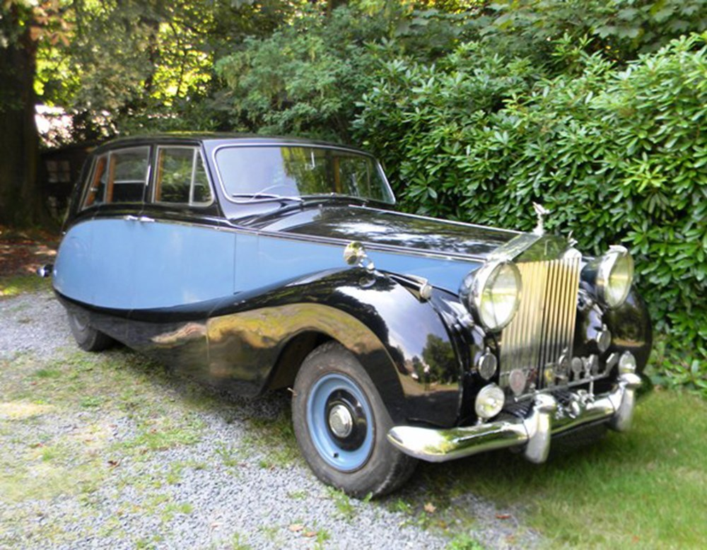 Lot 267 - 1956 13051 Silver Wraith Limousine by Hooper