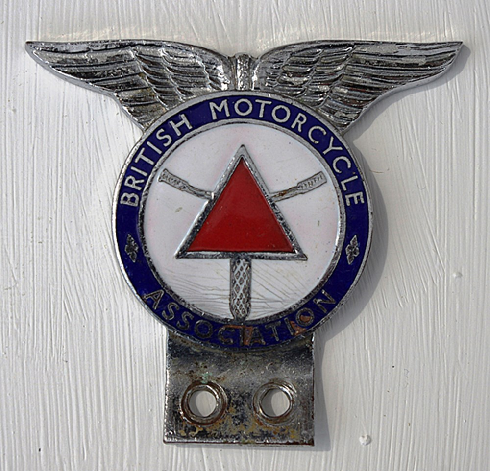 Lot 101 - Motorcycle badge