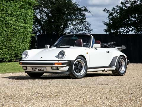 Ref 67 1988 Porsche 911 / 930 Carrera 'Turbo-bodied' Convertible