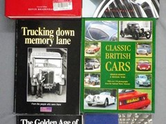 Navigate to 15 motoring books