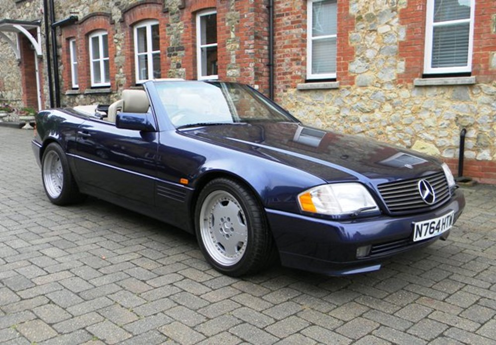 1995 mercedes benz sl60 amg classic sports car auctioneers for Buying a mercedes benz