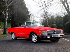 Navigate to Lot 216 - 1985 Mercedes-Benz 280SL Roadster