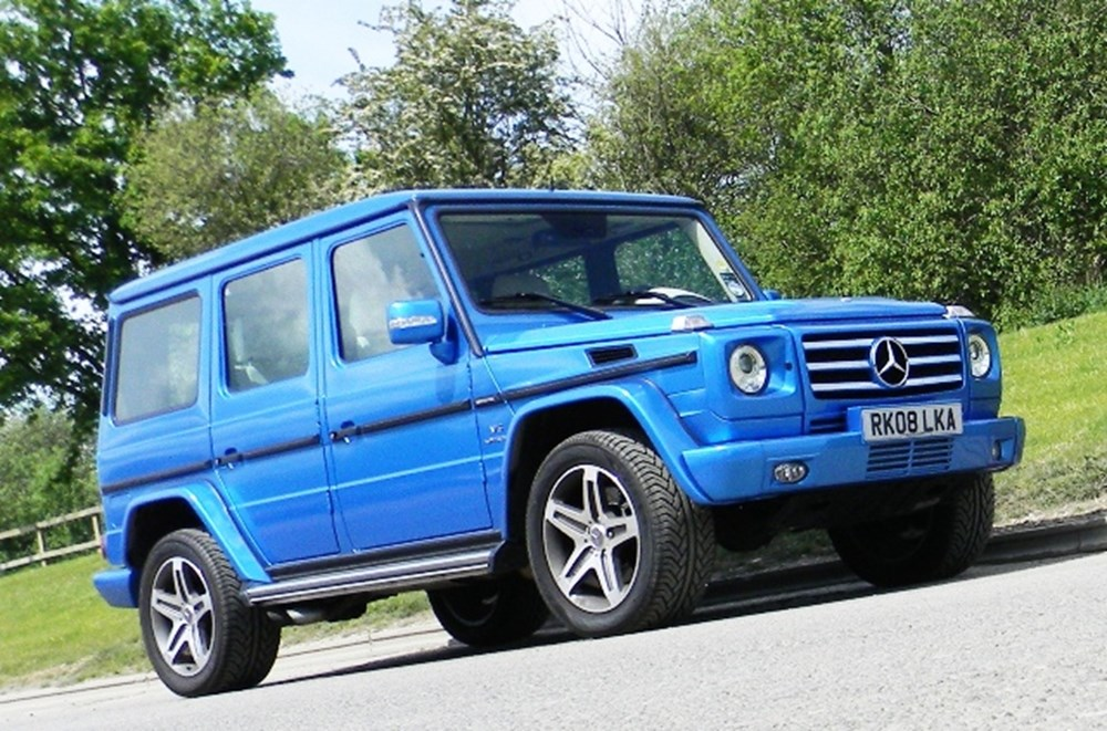Lot 314 - 2008 Mercedes-Benz G55 AMG Kompressor