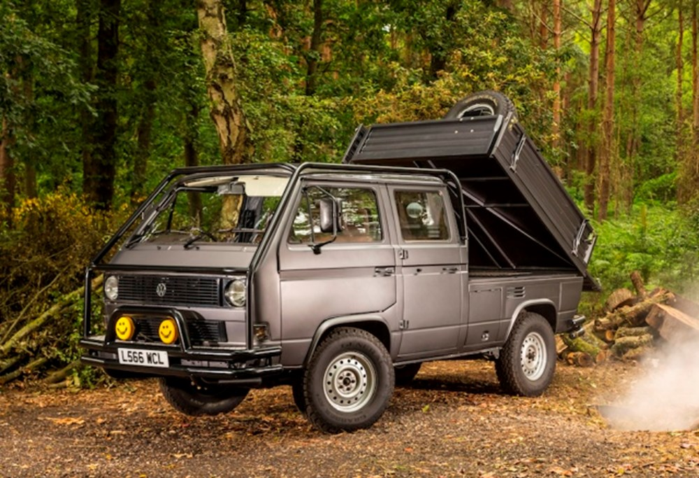 Lot 314 - 1992 Volkswagen Transporter Double-Cab 4x4 'Syncro '