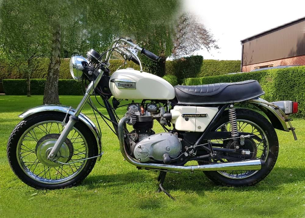 Lot 104 - 1973 Triumph Bonneville 750 T140