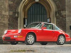 Navigate to Lot 162 - 1991 Porsche 964 Carrera 2 Targa