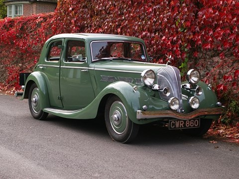 1937 Triumph Dolomite Short Chassis Saloon