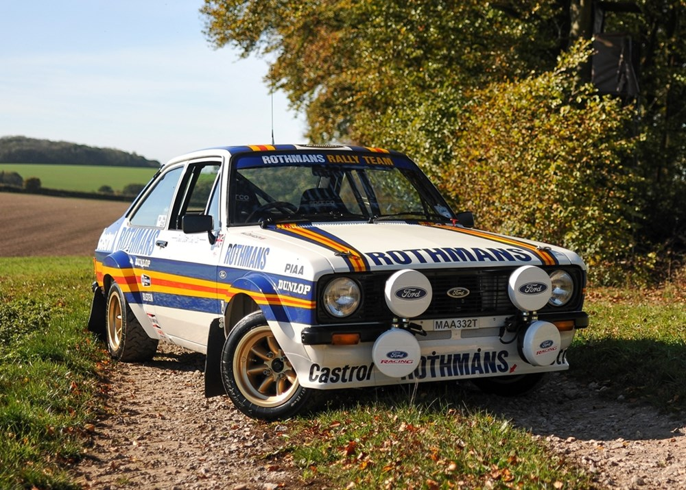 Lot 281 - 1978 Ford Escort Mexico Mk. II Group 4 Rally Car Evocation